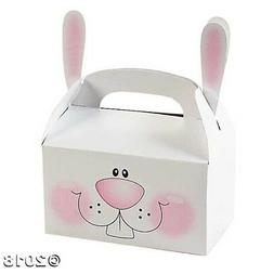 12 Easter Bunnies Bunny Treat Boxes With Ears Basket Filler