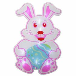 """Northlight 13.75"""" LED Lighted Easter Bunny Window Silhouette"""