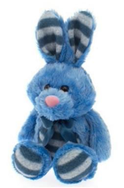 """14"""" DanDee Easter Bunny Rabbit Plush Stuffed Animal Toy Bask"""