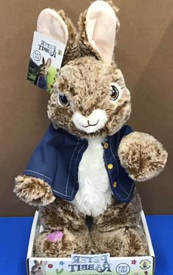 "16"" Peter Rabbit Plush 2018 Movie ANIMATED Musical Easter"