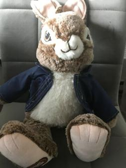"16"" Peter Rabbit Plush 2018 Movie New Easter Bunny Stuffed"