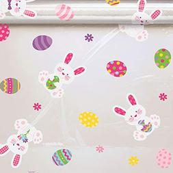 Amscan 180039 Easter Bunny Wrap, 7 1/2 feet x 40 inches, Mul
