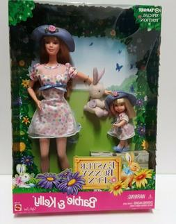 1998 Barbie Easter Bunny Fun Barbie & Kelly Target Special E