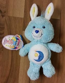 2004 Bedtime Care Bear Easter Bunny Moon Star Stuffed Animal