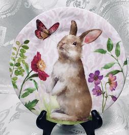 "208 Park Easter ""Spring Softies"" Melamine Salad Plates x 4 ~"