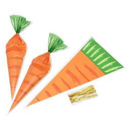 20pcs <font><b>Easter</b></font> Carrot Candy <font><b>Bag</