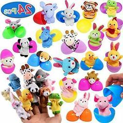 24PCS Prefilled Stuffed Animals & Teddy Bears Easter Eggs-12
