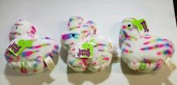 "3-DAN DEE 6""Plush Bunny & Peeps, New with tags, Easter Baske"