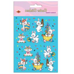 4 Easter Bunny Sticker Sheets Favors Gifts Prizes Birthday P