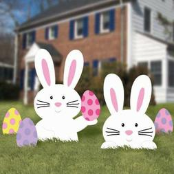 Amscan 5: Easter Bunny Corrugated Garden Signs