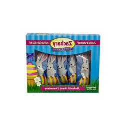 ZACHARY* 5pc Box EASTER BUNNY Candy MARSHMALLOW+REAL CHOCOLA