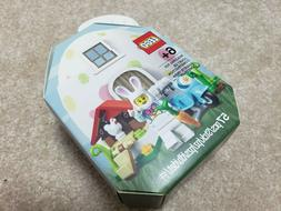 LEGO 853990 Easter Bunny House store exclusive chicken eggs