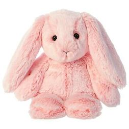 "Aurora 9"" Paddle Bunny Light Pink Stuffed Animal"
