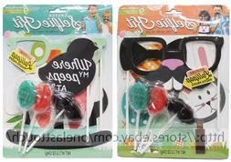 MODERN GOURMET* 9pc Set SELFIE KIT Photo Props+Lollipops EAS