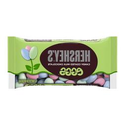 Hershey's Candy Coated Milk Chocolate Eggs, 10-Ounce Bag