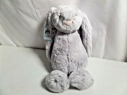 Jellycat Bashful Grey Bunny, Medium - 12""
