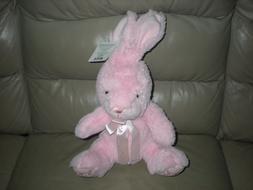 Stuffed Animal Animals Easter Bunny Plush Soft Pink Rabbit N