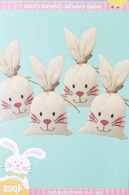 Adorable Easter Basket Treat Sacks Bags Easter Bunny Egg Hun