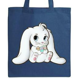 Inktastic Adorable Easter Bunny Tote Bag Kids Egg Eggs Sprin
