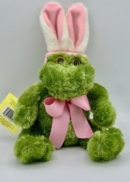 Adorable Frog Stuffed Animal with Easter Bunny Ears - NWT 11
