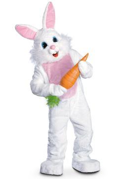 Adult Easter Bunny Rabbit Mascot Costume SIZE STANDARD