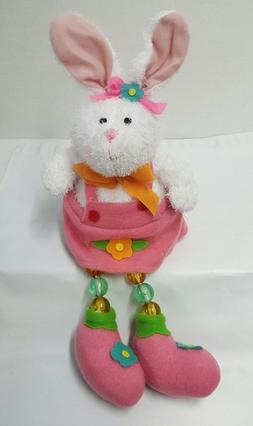 Avon Light-Up Easter Bunny Shelf Sitter ~ Girl