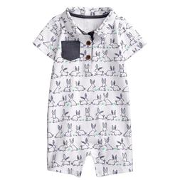 Gymboree Baby Boys Easter Bunny One Piece 6 12 18 24 Months