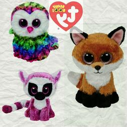 "Ty Beanie Boos 6"" Babie Baby Stuffed Animal Plush Great Gift"
