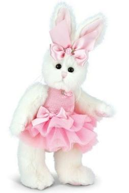 Bearington Plush 10 Inch Rabbit, Bunni Ballerina, New in Pla