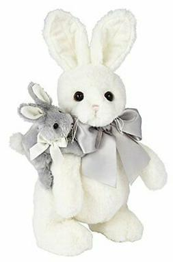 Bearington Skip and Hop Easter Stuffed Animal Bunny Rabbit T