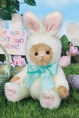 """Bearington Bears """"Beary Harey"""" 10"""" Plush Bunny- #420295- NEW"""