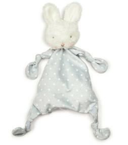 Bunnies by the Bay BLOOM KNOTTY FRIEND LOVEY GREY - NEW with