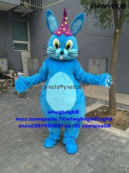 Blue Magic Rabbit Hare Bunny 2020 Adult Party Mascot Costume