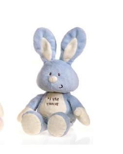 "BLUE Soft Huggable My 1st Bunny 11"" Stuffed Plush by Fiesta"