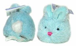 "Ganz Blue Sorbet Tumbleweed 4"" Easter Bunny Plush Stuffed An"