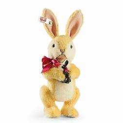 """Steiff BOSOM BUNNIES 682858 7.9"""" Mohair Bunny Rabbit Steiff"""