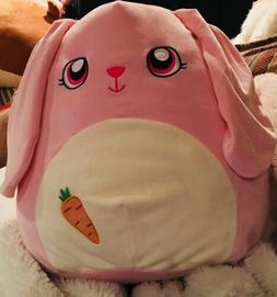 Brand New SQUISHMALLOW Bop The Pink Easter Bunny Pillow Stuf