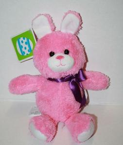Animal Adventure Small Bright Pink Bunny Rabbit Plush Stuffe