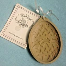 Brown Bag Cookie Art EASTER BUNNY EGG stoneware mold 1988 Hi