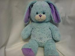 Build a Bear Workshop Easter Bunny Rabbit Blue Sparkle Winte