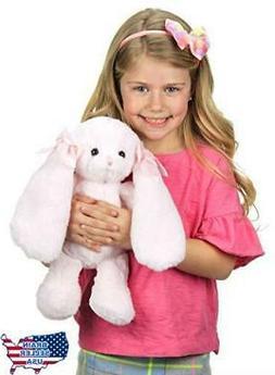 Bearington Bun Bun Pink Plush Stuffed Animal Bunny Rabbit 14