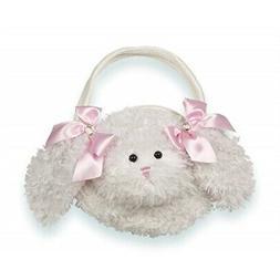 Bearington Bunny Carrysome, Girls Plush Stuffed Animal Purse