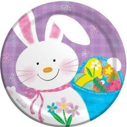 Bunny Juggle Easter Paper Plates 7-inch 8 Per Pack