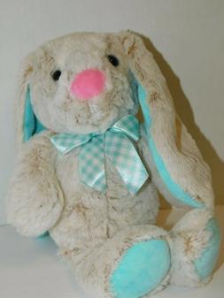 Easter Bunny Rabbit Stuffed Plush Animal 14 Inches Long Ears