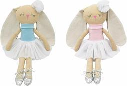Bunny Stuffed Animals,Adorable Bunny Plush Doll,2Pcs 16 inch