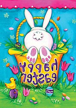 Toland Home Garden Bunny Tail 12.5 x 18 Inch Decorative Cute