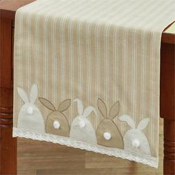 """Bunny Tails Table Runner - 42""""L"""