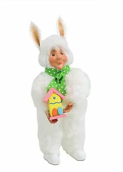 Byers Choice 2017 EASTER BUNNY TODDLER First of it/'s Kind Cute /& Affordable Gift