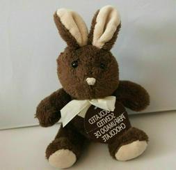 Dan Dee Chocolate Scented Easter Bunny Rabbit Plush Stuffed