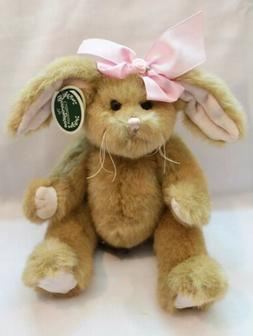 """Bearington Collection 10"""" Brown Spring or Easter Bunny Rabbi"""